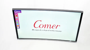 "Изогнутый телевизор Comer 50"" Smart TV Android 7.0 FullHD/DVB-T2/USB"