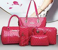 Шкіряна жіноча сумка. Модель 478, фото 3