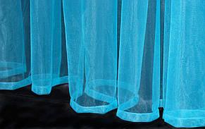 Тюль фатин, однотонный, цвет електрик. Код 059тф, фото 3