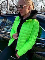 Куртка женская весенняя  в расцветках 42572