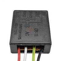Сенсорный выключатель-диммер (вкл.>тускло>средне>ярко>выкл.) 3 уровня на 220 Вольт для ламп, светильников, бра