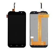 Дисплей для телефона Geotel G1 с сенсорным стеклом (Черный) Оригинал Китай