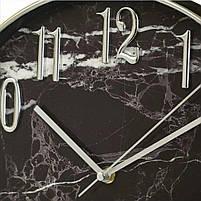 Часы настенные Veronese Мраморные 30 см, фото 2