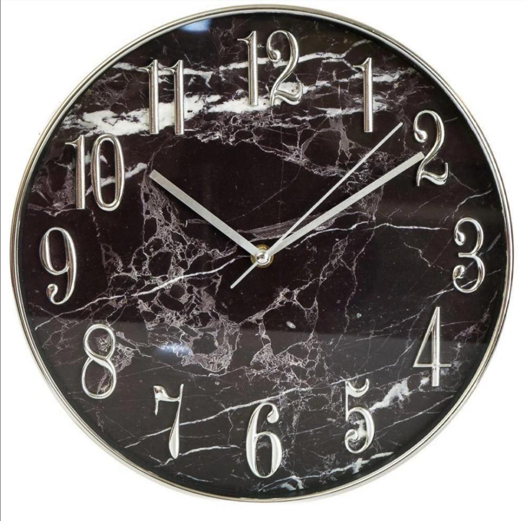 Часы настенные Veronese Мраморные 30 см