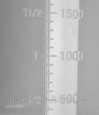 Мірний глечик/ стакан мірний поліпропіленовий 5 л YatoGastro YG-07288, фото 2