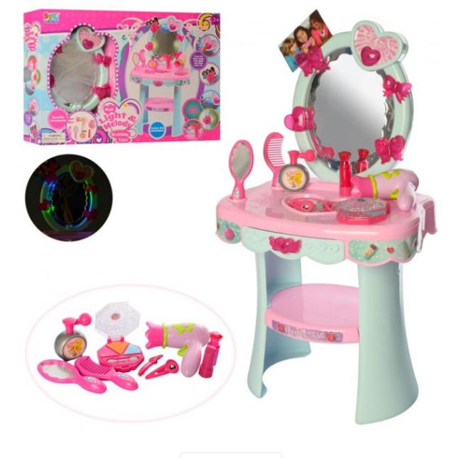 Туалетный столик-трюмо Beauty 16813 фен расческа зеркало бутылочки аксессуары