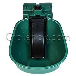 Чашечная поилка для поросят пластиковая с язычком (Farma)