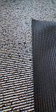 Коврик на метраж  ширина 65 см Черный с серебром для Ванной Туалета Кухни Коридора Дорожка Аквамат, фото 2