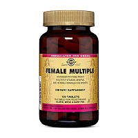 Комплекс витаминов для женщин Solgar Female Multiple 120 tabs