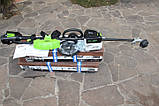 Аккумуляторный бесщеточный триммер,электрокоса,мотокоса Greenworks Elite ST-140-AT  (Greenworks GD40BCK4), фото 10