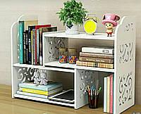 Стеллаж органайзер настольный для книг, журналов и мелочей