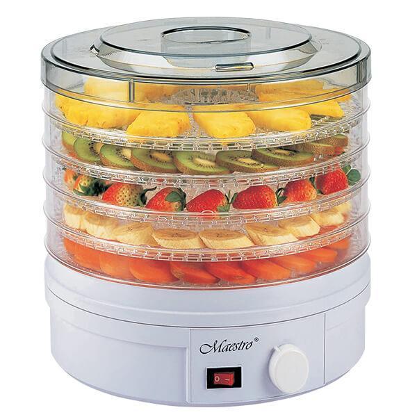 Сушилка для фруктов и овощей на 5 лотков, Maestro