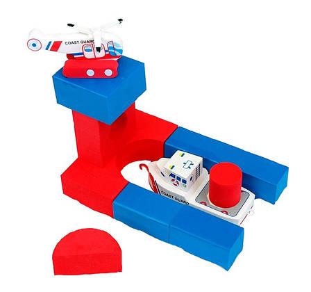 Плавающие блоки для ваннойJust Think Toys Лодка и вертолет (22091), фото 2