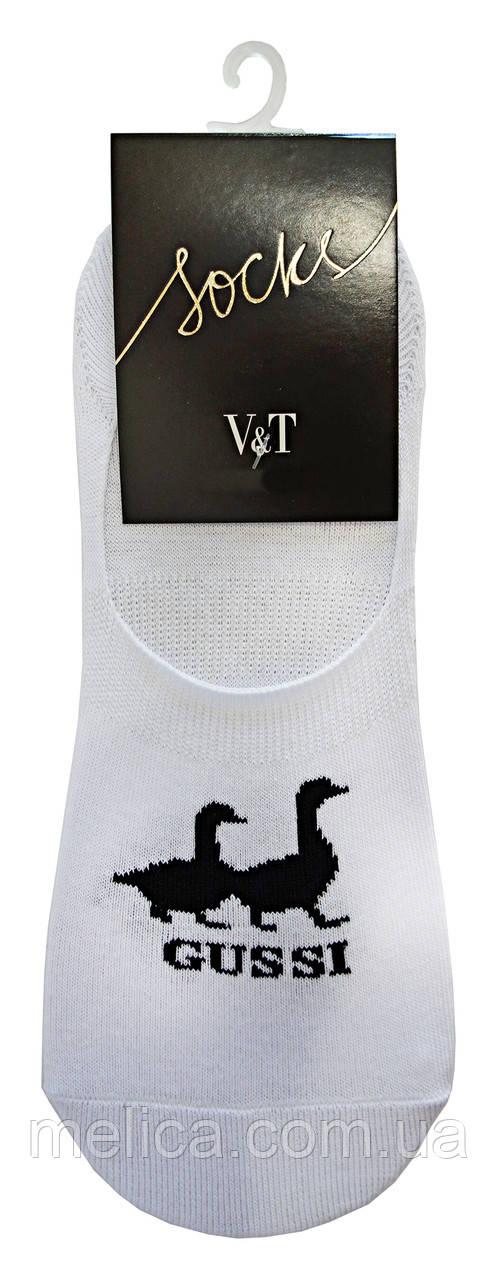 Носки мужские Socks V&T чешка ЧЧкр 68-024-654 Gussi р.25-27 Белый