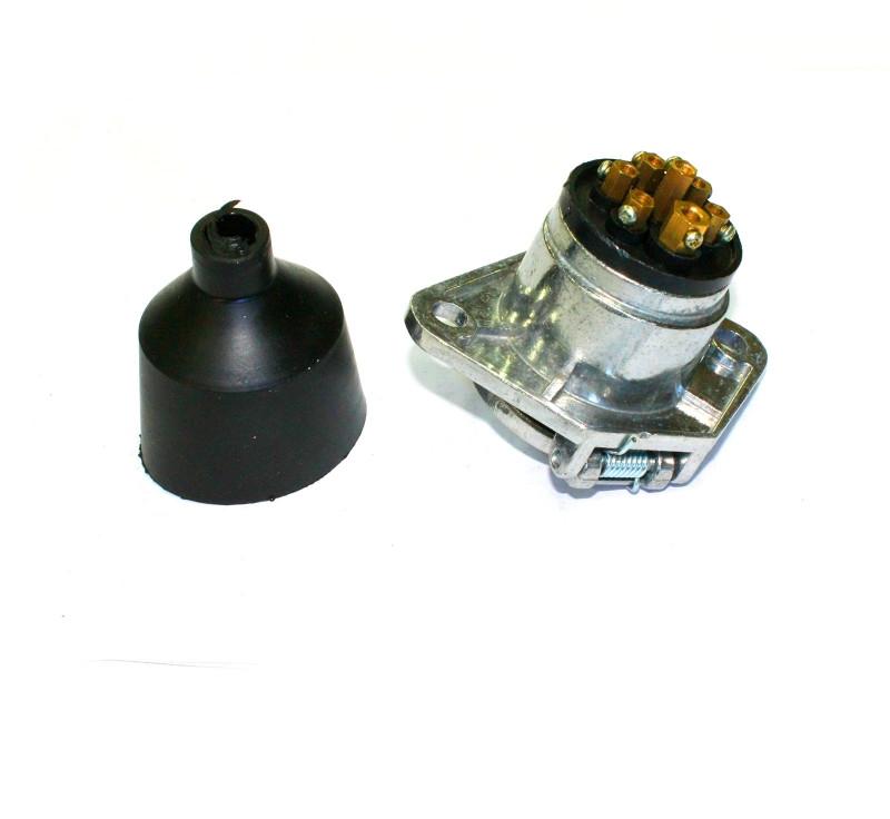 Розетка причепа ПС325 висока лат. контакти ПС325-3723100