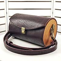 Кожаная женская сумочка XS ручной работы