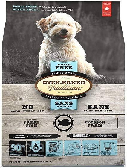 Корм Oven Baked Tradition для собак дрібних порід з рибою | Oven Baked Tradition Grain Free Dog Fish 1 кг