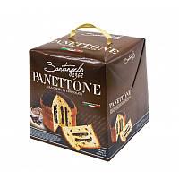 Панеттоне пасхальный  Santangelo alla crema di cioccolato 908 г (Италия), фото 1
