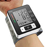 Тонометр для измерения давления и пульса UKC BLPM-29, фото 5