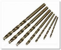 Сверло по металлу Р18 (кобальт) 1,0 мм