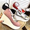 Стильные женские туфли на платформе, фото 2