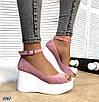 Стильные женские туфли на платформе, фото 3