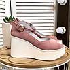 Стильные женские туфли на платформе, фото 8