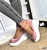 Стильные женские туфли на платформе, фото 6
