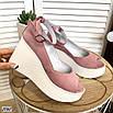 Стильные женские туфли на платформе, фото 7