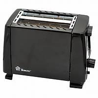 Тостер Domotec MS-3230 650w Black (3760)