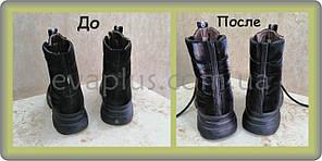 Зовнішня латка на жіночих черевиках