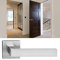 Дверная ручка для входной и межкомнатной двери Tupai, мод Square 2275Q. Португалия