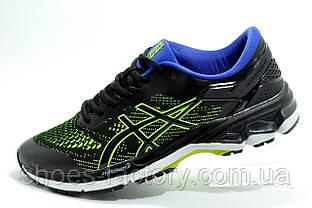 Беговые кроссовки в стиле Asics Gel Kayano 28, Black\Lime