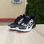 Женские кроссовки Nike Air Max 270 Supreme (черно-белые) 20041, фото 3