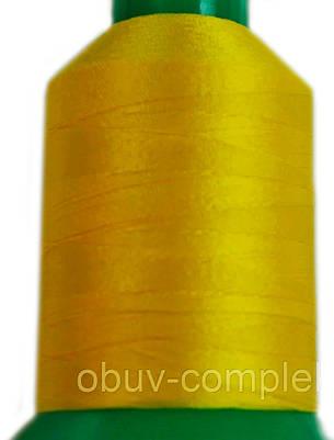 Нить Титан №20 2000 м. Польша цвет (2507) жовтий, фото 2