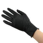 Рукавички нітрилові без пудри,,Black,, (2 шт.) Medicom XL