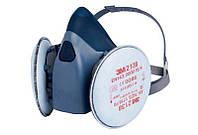 Респиратор 3М 7502 фильтры + 3М 2138 Р3