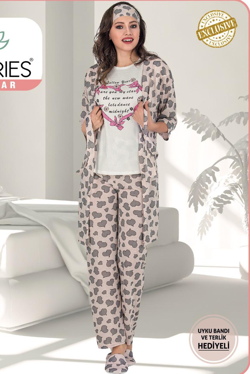 Жіночий  піжамний комплект 5 LE'MARIES