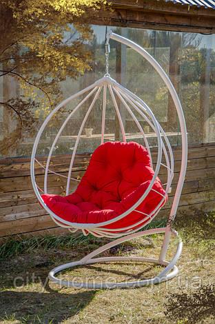 """Подвесное кресло-кокон """"Адель"""" белое, фото 2"""