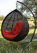 """Подвесное кресло-кокон """"Асоль"""" коричневое"""