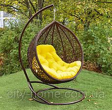 "Подвесное кресло-кокон ""Веста"" коричневая, фото 2"