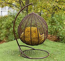 "Подвесное кресло-кокон ""Веста"" коричневая, фото 3"