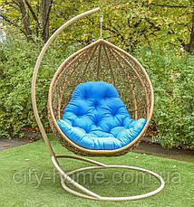 """Подвесное кресло-кокон """"Веста"""" лоза, фото 3"""
