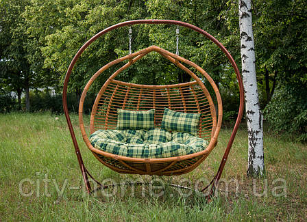 """Подвесное кресло-кокон """"Галант полосатый"""" лоза, фото 2"""