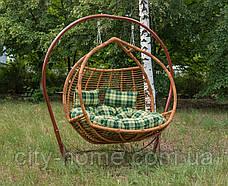 """Подвесное кресло-кокон """"Галант полосатый"""" лоза, фото 3"""