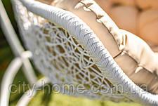 """Подвесное кресло-кокон """"Леди"""" белое, фото 3"""