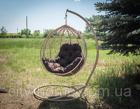 """Підвісне крісло-кокон """"Еко Преміум"""" верба, фото 2"""