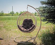 """Підвісне крісло-кокон """"Еко Преміум"""" верба, фото 3"""