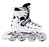 Роликовые коньки с комплектом защиты Scale Sport. White, размер 34-37, фото 4