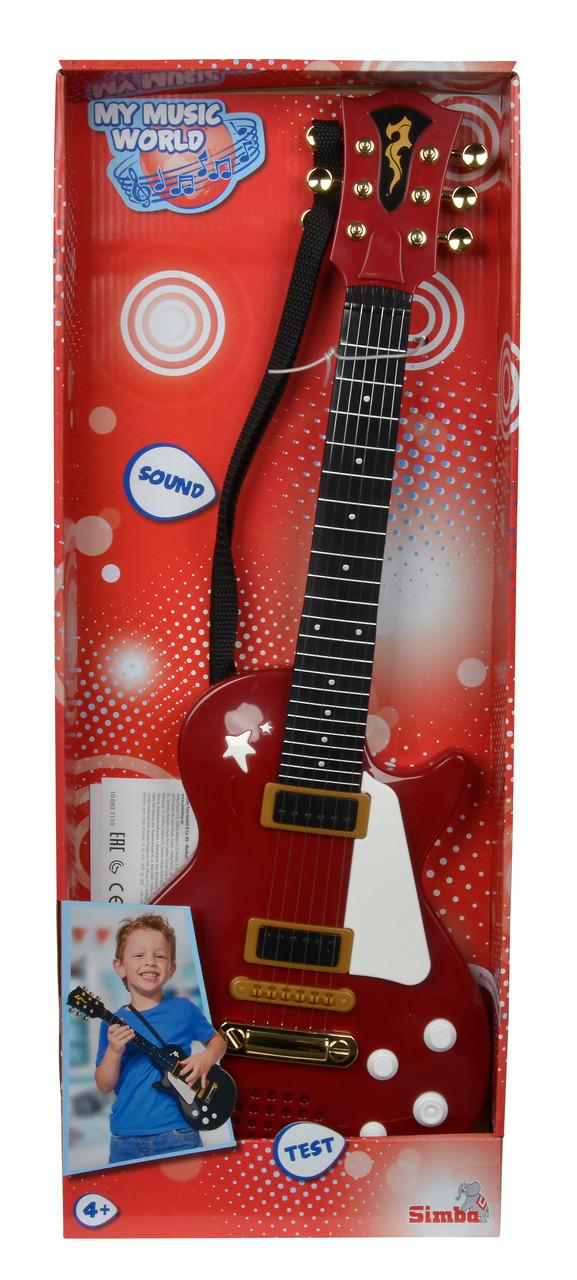 Електронна рок-гітара Simba 56 см Червона (6837110_red)